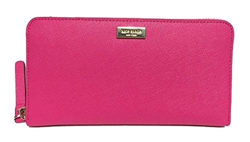 Kate Spade Newbury Lane Neda Leather Wallet (Radish) by Kate Spade New York