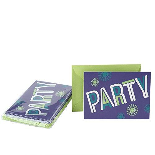 Hallmark Party Invitation Cards (Disco (Disco Party Invitations)