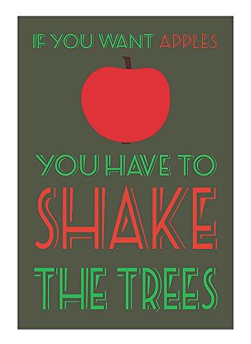 shake (someone's) tree