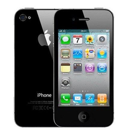 Apple iPhone 4 8 GB Straight-Talk, Black