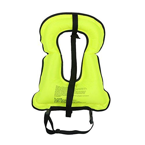 ELEOPTION ELEOPTION Adult Kids Snorkel Snorkeling Vest In...