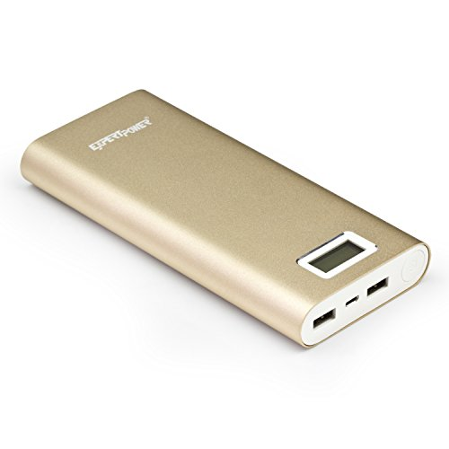 ExpertPower 20000mAh Ultra High Capacity External Battery Power Bank for Smartphone & Tablets