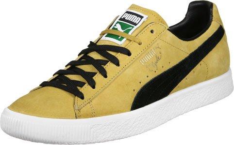 "Puma - Puma Clyde ""Bright Gold"" amarillo negro"