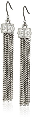 Lucky Brand Silver Tassle Earrings