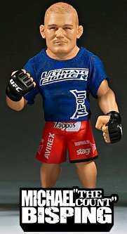 Round 5 UFC Ultimate Collector Series 2 LIMITED EDITION Action Figure Michael The Count Bisping