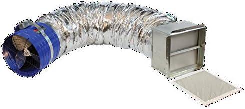 QC Manufacturing QC 1500 D QuietCool CLASSIC 1527 CFM Whole House Fan
