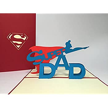 Amazon Fathers Day 3d Greeting Card Handmade Fathers