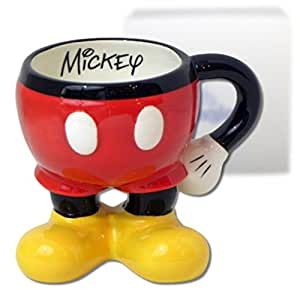 Amazon Com Mickey Mouse Disneyland Coffee Mug Kitchen
