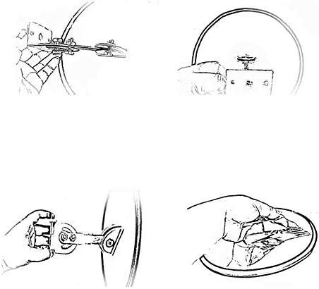 45cm Espejo de Tr/áfico Redondo Espejo de Seguridad Convexo Gran Angular 130 Grados con Cubierta de Lluvia Para Tr/áfico Exterior,Naranja