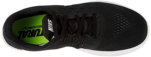Nike Mens Free Rn Scarpa Da Corsa Nero / Antracite / Bianco (11,5, Nero / Bianco)