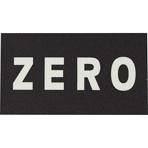 ゼロスケートボード1個ストリップブラック/クリアGriptape – 5