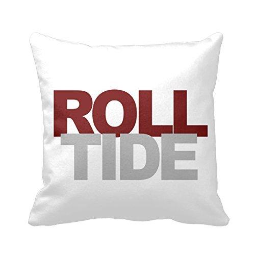 Roll Tide Alabama Crimson 18 X 18 Pillow Cover Throw Pillow (Alabama Crimson Tide Throw Pillow)