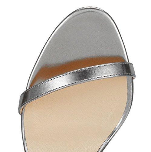 MONICOCO - Tira de tobillo Mujer Gris - Silbergrau PU