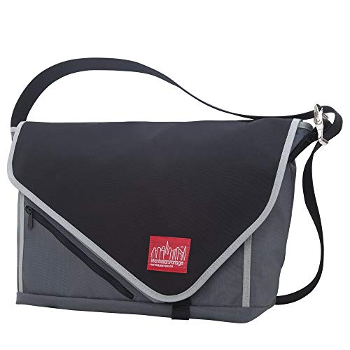 Manhattan Portage Flat Iron Messenger Bag, Small, ()