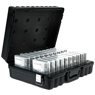 Perm-a-Store Turtle LTO Case Holds 20 Tapes Black LTO20 from PERM-A-STORE