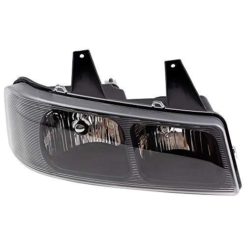 Passengers Composite Halogen Headlight Headlamp 03-18 Chevy Express GMC Savana Van 15879432 GM2503233 1590997