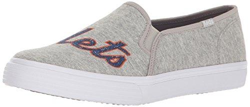 Keds Women's Double Decker Mlb Fashion Sneaker,Mets,5.5 M US