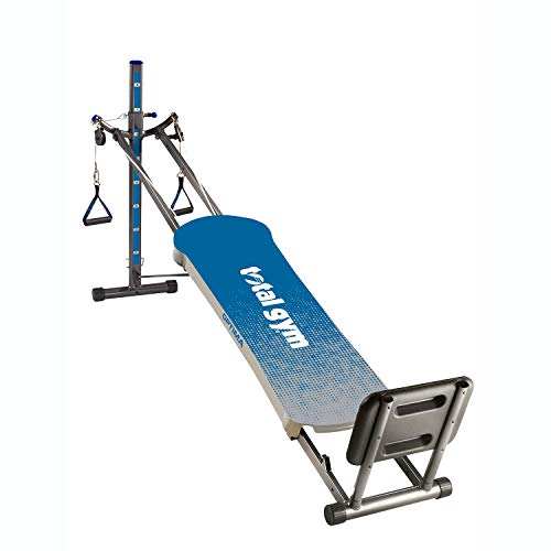 Total Gym Optima Full Body Fitness Workout for Home and Gyms - Inclined Folding Exercise Machine