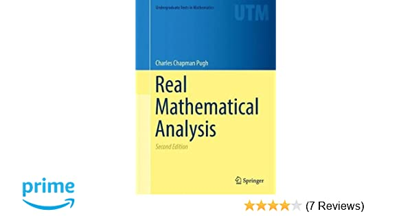 Real mathematical analysis undergraduate texts in mathematics real mathematical analysis undergraduate texts in mathematics charles chapman pugh 9783319177700 amazon books fandeluxe Images