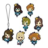Rubber Mascot can be concatenated with the Idolmaster Cinderella Girls Chitcha niece vol.1 all seven Furukonpu set