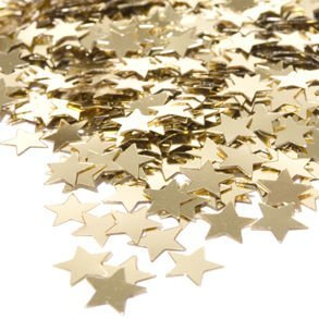 Gold Confetti Stars (.5 Ounce Bag - Qty 1) by Century Novelty