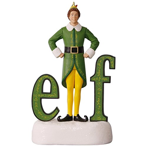 Hallmark Keepsake 2017 Buddy the Elf Sound Christmas Ornament