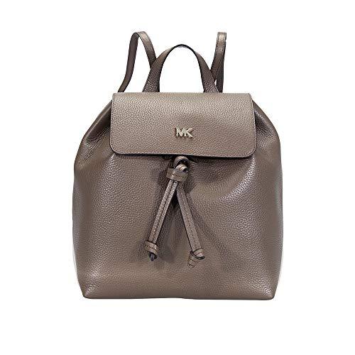 MICHAEL Michael Kors Junie Medium Pebbled Leather Backpack (Mushroom) (Bag Shoulder 250)