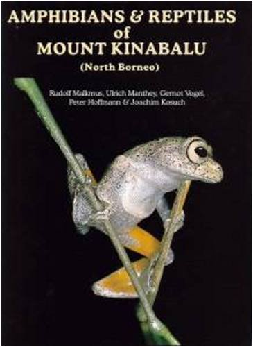 Amphibians & Reptiles of Mount Kinabalu (North Borneo)