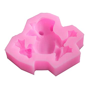 Molde de silicona para repostería, diseño de rana, color rosa: Amazon.es: Hogar