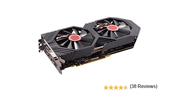XFX AMD Radeon RX RX-580P8DFD6 8GB Triple X Edition ...