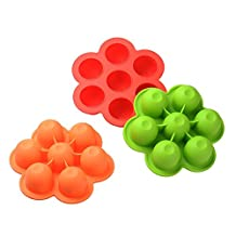 Sundlight Food Container Multi Portions / Food Box for Baby Silicone Preservation, Random Color