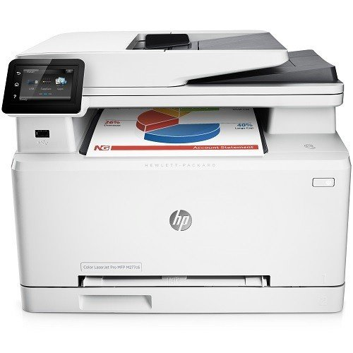 HP Laserjet Pro M277c6 Wireless All-in-One Color Printer (New Model for M277dw) (Wireless Laser Printer 3 In 1)
