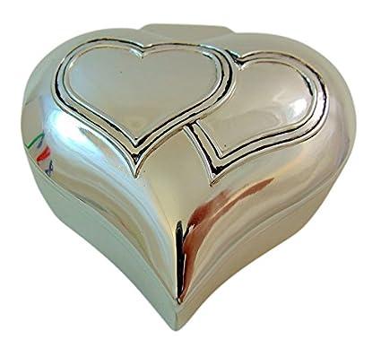 Colección de unión matrimonial con caja de metal y arras de boda: Amazon.es: Hogar