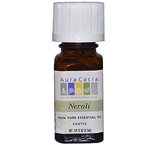 Aura Cacia Essential Oil Neroli (Citrus Aurantium), 0.125 Oz