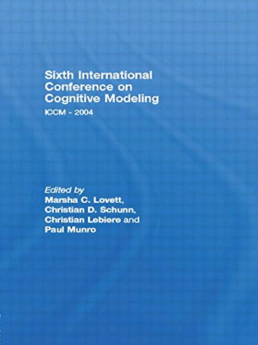 Sixth International Conference on Cognitive Modeling: ICCM - 2004