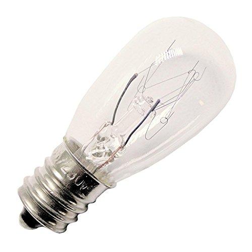 Eiko 6S6/230V S-6 Candelabra Base Halogen Bulb, 230V/6W ()