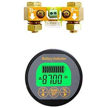 AILI DC Current Transformer Hall Sensor Bidirectional Current 120V /± 200A Combo Meter