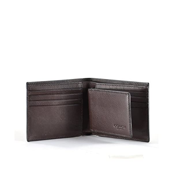 COACH-Compact-ID-Sport-Calf-Bifold-Wallet-in-Mahogany-Brown-74991