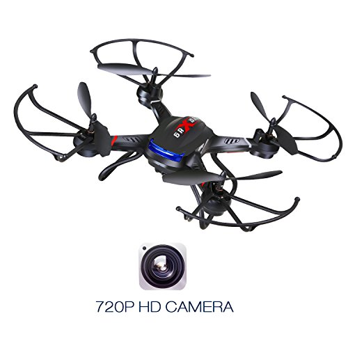 Holy Stone F181C RC Quadcopter Drone with HD Camera RTF 4 Channel 2.4GHz 6-Gyro with Altitude Hold Function,Headless Mode and One Key Return Home, Color Black by Holy Stone (Image #2)