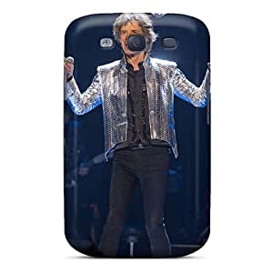 Shockproof Cell-phone Hard Cover For Samsung Galaxy S3 With Unique Design Vivid Kid Rock Band Skin JamieBratt