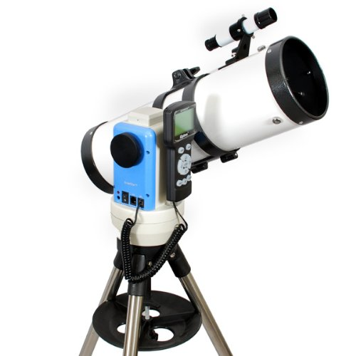 "TwinStar White 4.5"" iOptron Computerized GPS Reflector Telescope"