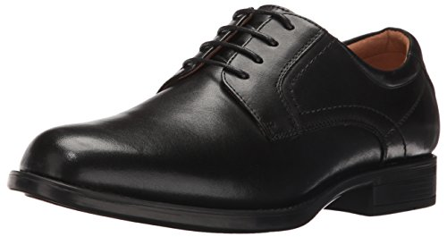 Florsheim Men's Medfield Plain Toe Oxford, Black, 10.5 D US by Florsheim