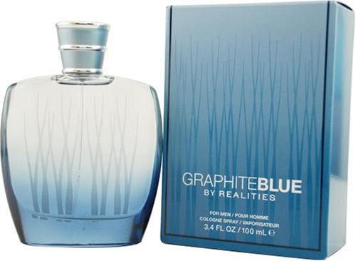 Realities Graphite Blue by Liz Claiborne For Men. Cologne Spray