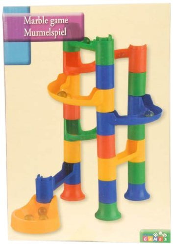 Panorama Gifts Kids Marble Run Race Construction Kit 24Pcs Game Set by Panorama Gifts