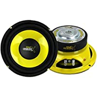 2) Pyle PLG64 6.5 600 Watt Car Mid Bass/Midrange Subwoofers Subs Power Speakers