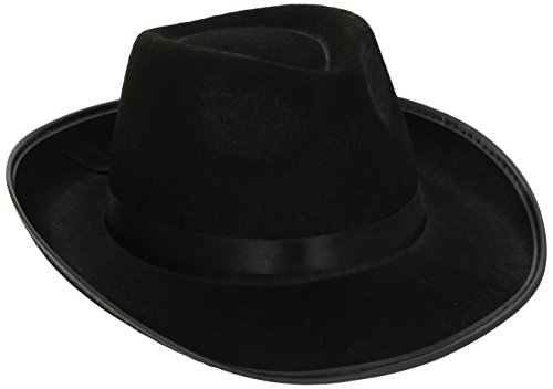 Velour Gangster Hat - 3