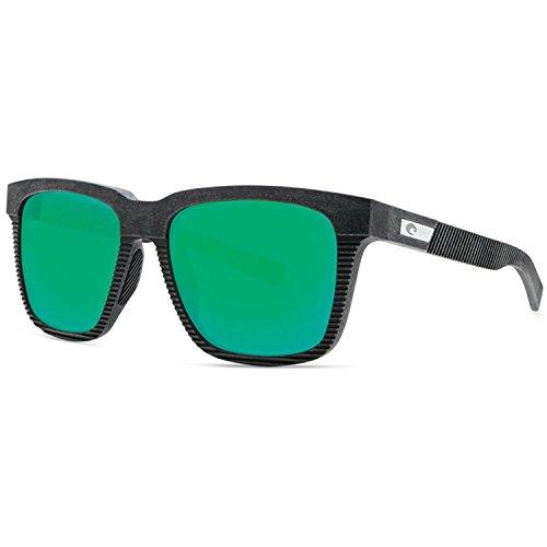 Costa Del Mar Costa Del Mar UC100GOGMGLP Pescador Green Mirror 580G Net Gray w/Black Rubber Pescador, Net Gray w/Black Rubber, Green Mirror 580G, One Size
