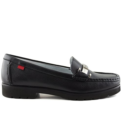 Marc Women's York Driving Loafer Made in New Grainy Black Style Tribeca Joseph Brazil Leather rqatZrx