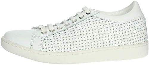 Keys Scarpe Sneakers da Donna Pelle Bianca 5533-BIANCO