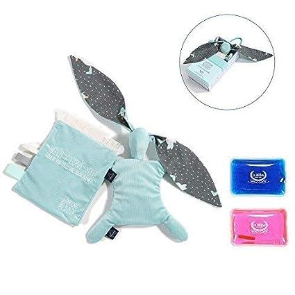 Sevira Kids - Doudou Bolsa de agua caliente - comprimir gel frío - especial bebé -